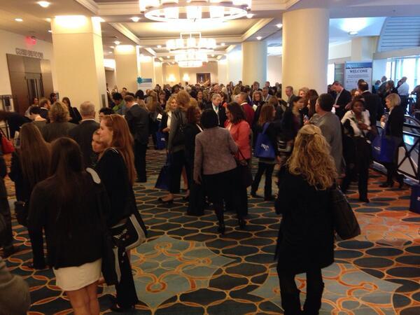 PRSA 2013 Conference Lobby