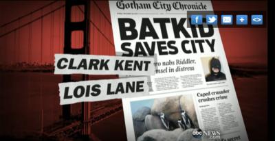 Batkid Chronicle Headline