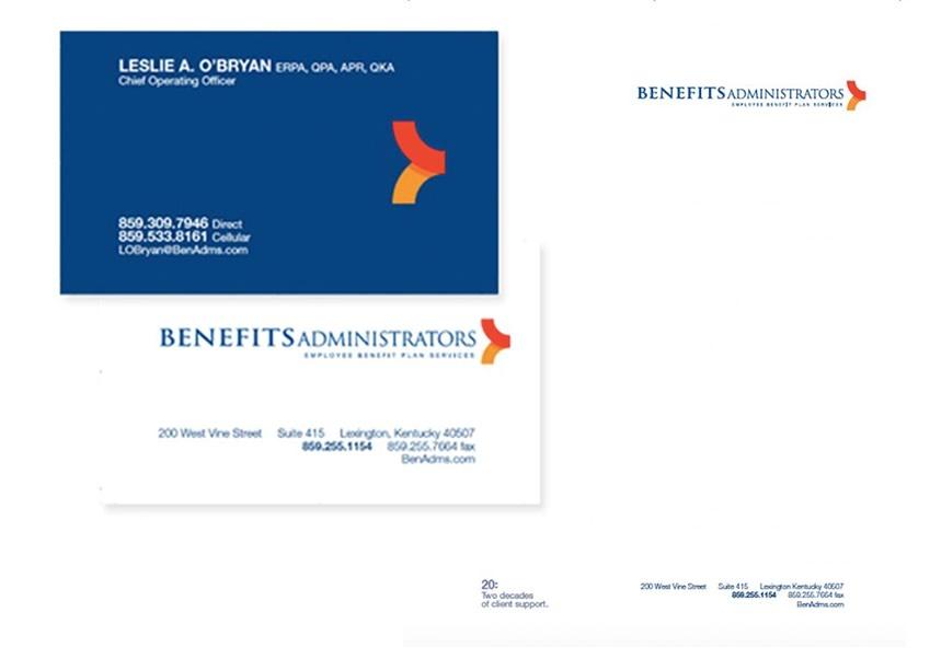 Benefits Administrators Printed Materials