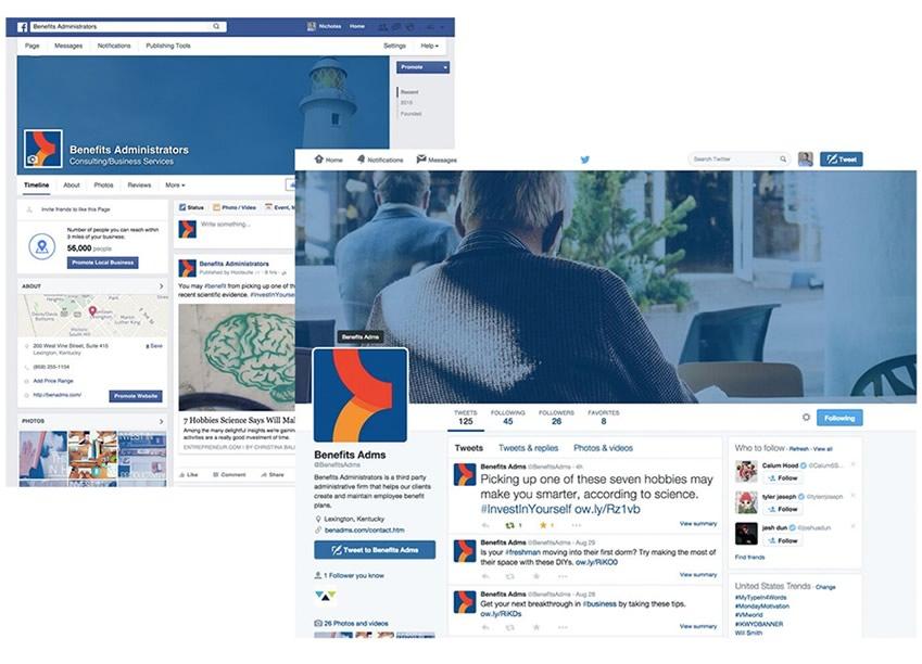 Benefits Administrators Social Media