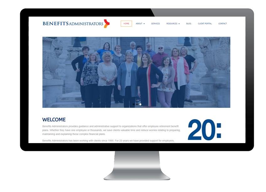 Benefits Administrators Web Site