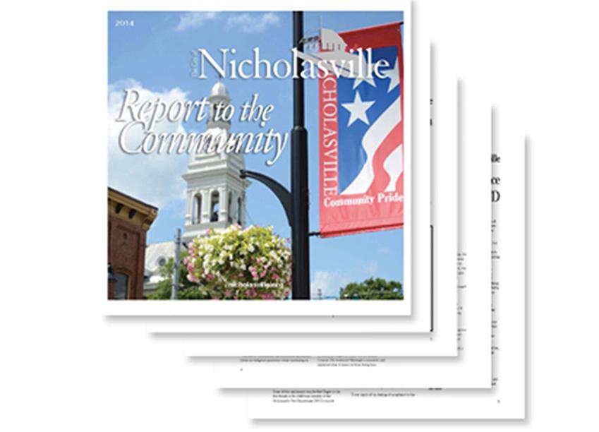 Nicholasville City Report