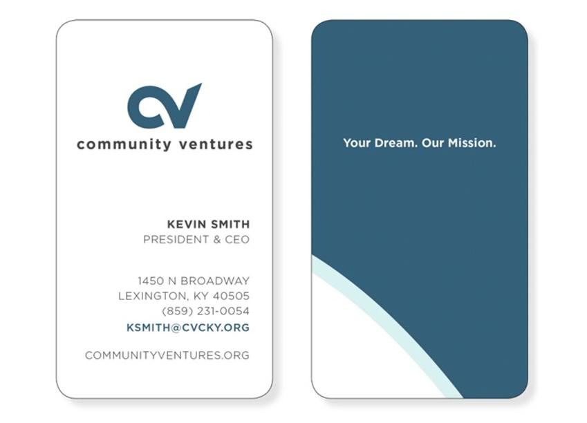 Community Ventures Business Cards